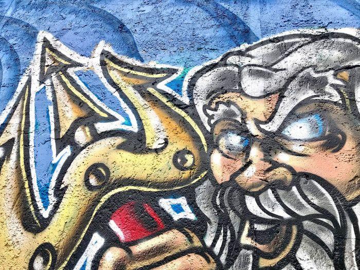 Graffiti Full Frame Art And Craft Backgrounds Creativity Multi Colored Pattern Textured  Close-up Street Art Day No People Architecture Outdoors Creativity Neptune 🔱🌊 Graffiti Textured  Street Photography Graffiti Art Wall Painting/graffiti Art Lover