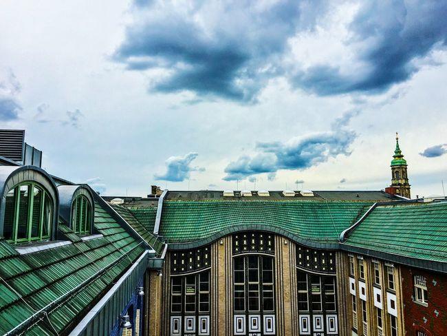 On Top Of The World Rooftop View  Hakesche Höfe Hakeschehöfe Berlin Mitte Berliner Ansichten Clouds And Sky Berlin CloudsCloudsClouds Architecture Roof Berlin On Top Bestoftheday Best EyeEm Shot