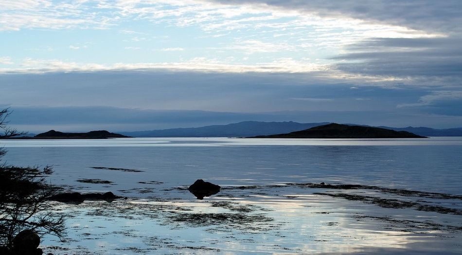 Jura dawn. Scotland Tranquil Scene Water Scenics Tranquility Mountain Scotland Non-urban Scene Sea Remote Jura Scottish Highlands Landscape_Collection Landscape_photography Landscape #Nature #photography Landscape Photography
