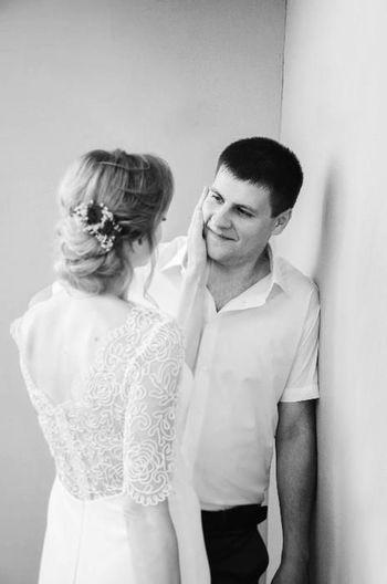 Wedding Dress Wedding People Females Two People Famely Smile❤ Romance Nature