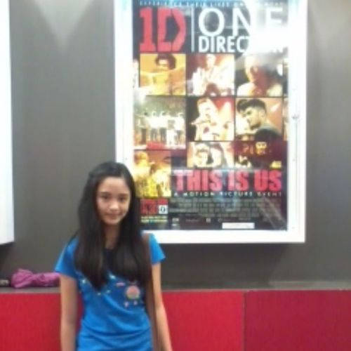 One Direction poster Thisisus Premierticket