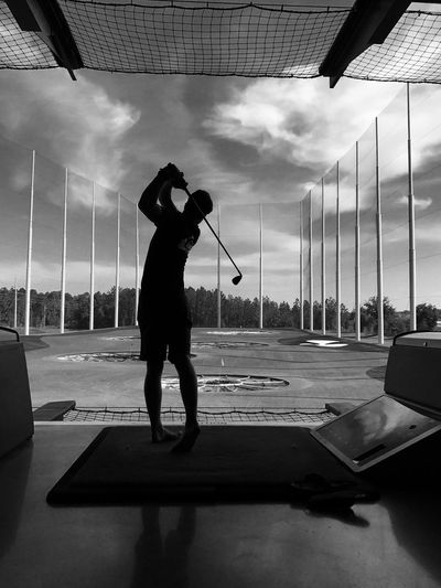 EyeEmNewHere Top Golf Golf Lifestyles Skill  Playing Sport People Leisure Activity