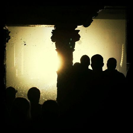 QOTSA Silhouette What Does Music Look Like To You? Lights Eyeem Shows