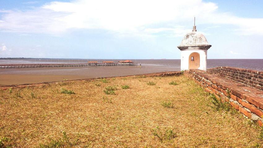 Amazon River Fortress Macapá Amapá Brazil