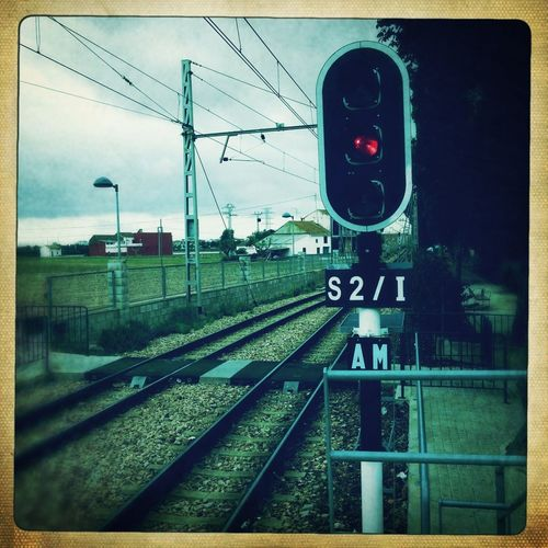 Streetphotography Hipstamatic Train Station Traffic Lights