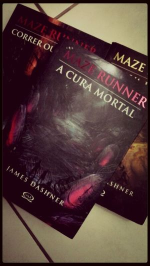 New Book Nova Leitura The Maze Runner