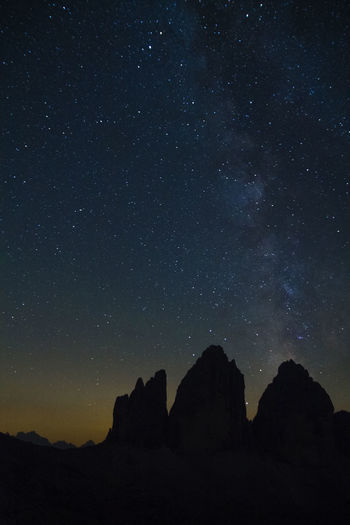 Canon 1100D Alps Beauty In Nature Dolomites Dolomites, Italy Italian Mountains Italy Sublimephoto Sublime Mountains And Stars Starry Night Milkyway Starry Sky Tre Cime Di Lavaredo Nature Majestic Nature Majestic Landscape Landscapes Landscape_Collection Landscape_photography Nightphotography Night Photography Nature Photography