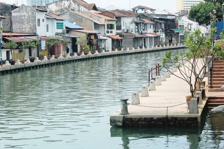 River Riverview Malacca Malaysia Melaka Malaysia Truly Asia City