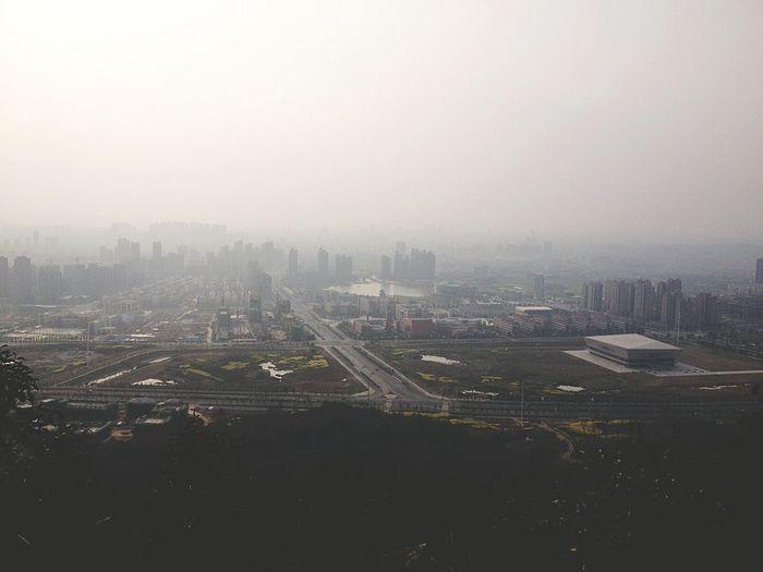 东顾山远眺 IPhoneography Snapseed Photography IPhone4s Anhui Hefei