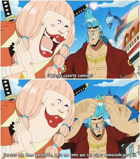 One Piece Hay Aja Super Copetazo Franky