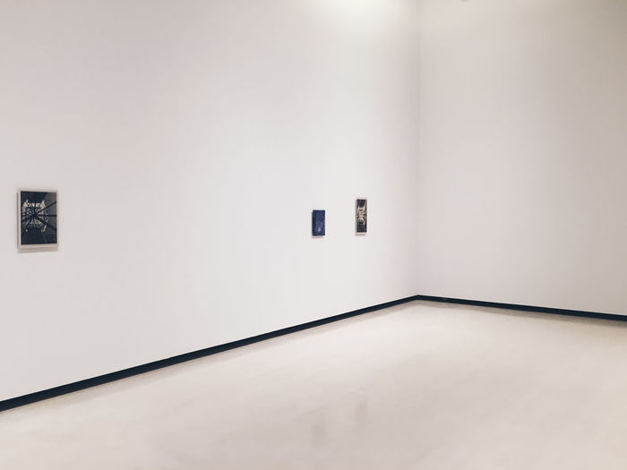 Art Display Art Gallery Day Indoors  Minimal Modern No People White Background White Color White Cube