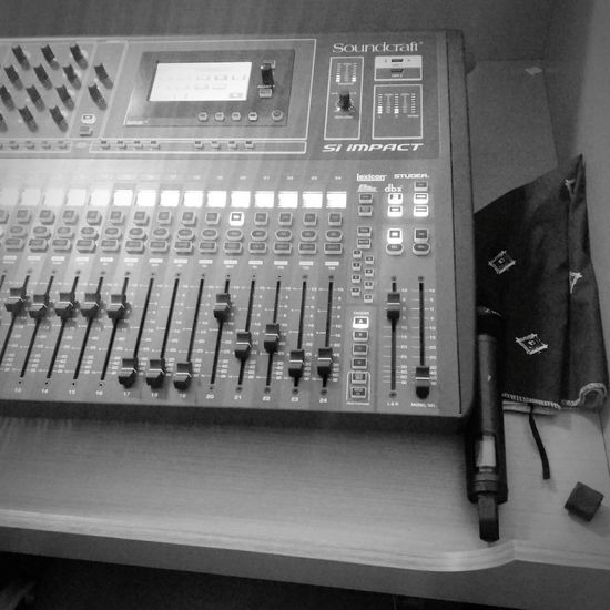 job today Soundcraft Siimpact Senheiser G3 Vanzindj Production Indoors  Technology Control Panel No People Electronics Industry Mother Board Close-up Day