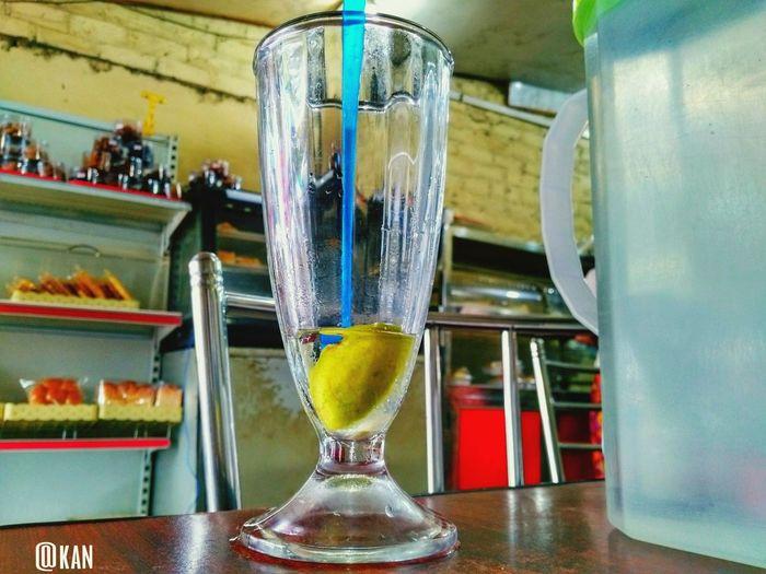 Empty Lime Juice