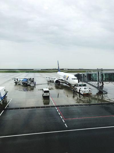 神戸空港 Transportation Mode Of Transportation Sky Water Cloud - Sky Airport Travel