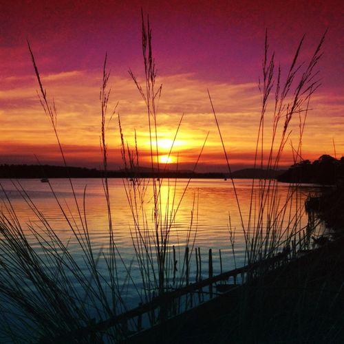 Sunset Over Lewisham Tasmania!