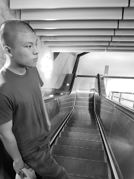 After 5 Weeks In The Army Weight Loss My Loss My Son In Mid August 2017 Bnwphotography Bnwstreetphotography Singapore