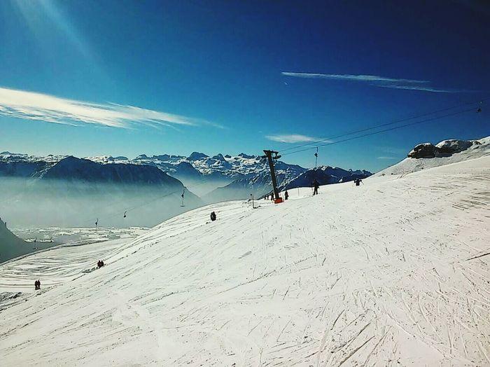 Skiing Snow ❄