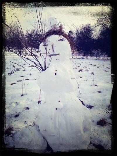 Grumpy The Snowman