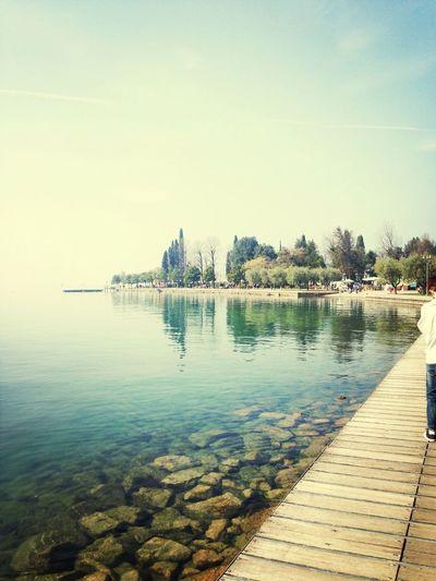 Garda Lake SundayThe Spring Is Coming