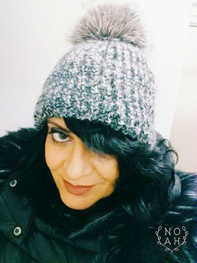 My new hat ! Hat Fur Real Fur Wool Hat