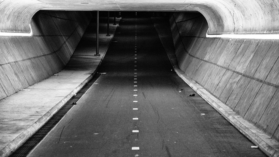 - Tunnelvision - Tunnel The Way Forward Architecture Underground Concrete Urban Landscape Nikonphotography City Urban Nikon Tunnelvision Nightlights Nightphotography Blackandwhite Monochrome Blackandwhite Photography