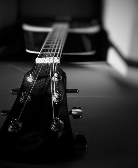 Close-up of guitar