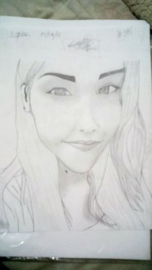 A little drown of that beuty woman Hi! Hello World In Heaven Drawing Draws Art, Drawing, Creativity My Drawings ✏ My Draw ♥ My Drawings Drawings