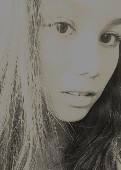 Girl Monochrome Teen Young