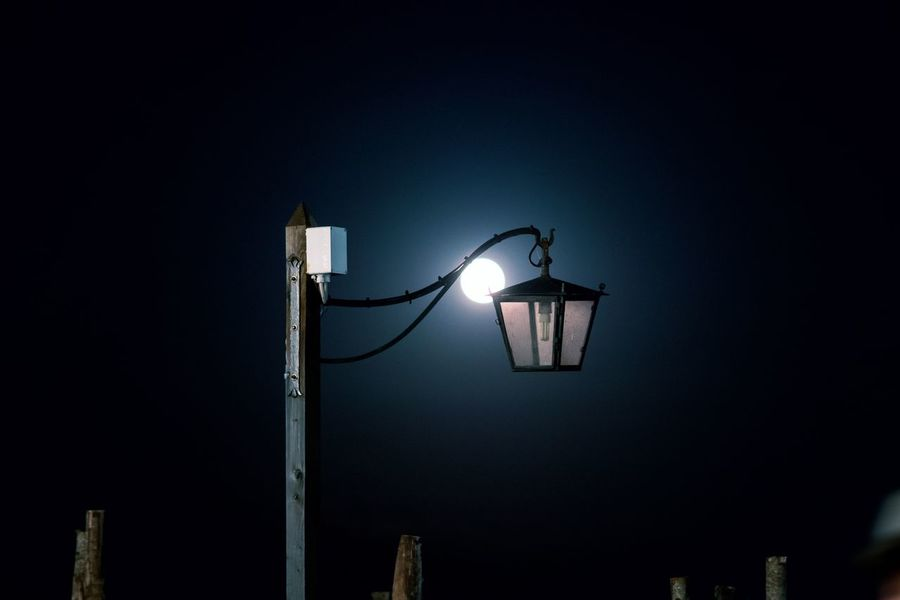 MOONLIGHT Moonlight Illuminated Lighting Equipment Street Light Low Angle View Night Street Electricity  No People Sky Light Electric Light Technology Nature Outdoors Glowing Electric Lamp Pole Retro Styled Metal Electrical Equipment Capture Tomorrow