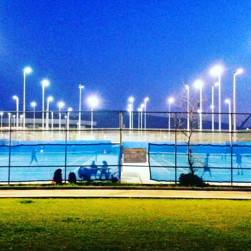 Athens, Greece Olympic Stadium Tenniscourt Jocovic