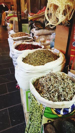 Market Cultures Food Freshness Bazaar Outdoors Qatar