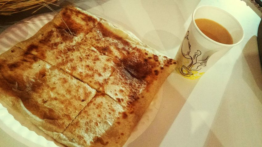 Hi! Hello World Taking Photos In Riyadh City  Motabq Hanging Out Bread With Cheese And Egg With Sister