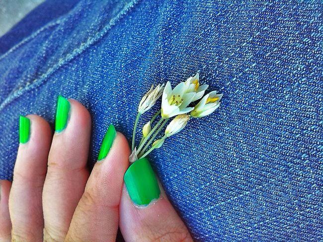 Flor Flores Flores Y Más Flores Mano Hand Nails Nails <3 Florecitas Florecillas
