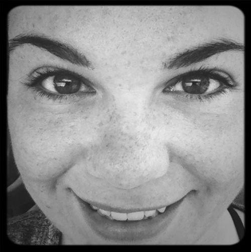 feeling strong! No Makeup Selfie Freckles