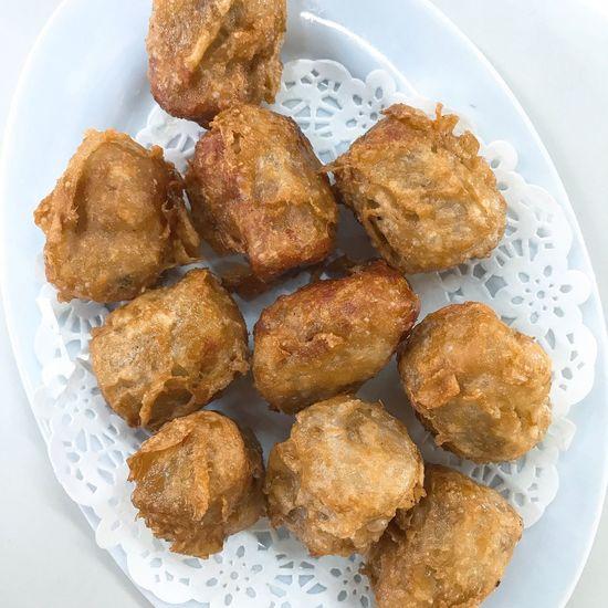 Deep fried dumpling Food Ready-to-eat Dumplings Fried Dumpling Dim Sum Time Instafood Foodstagram Littlefoodtrail LoveFood Lovefoodhatewaste