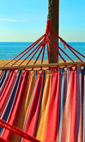 hammock for relaxing on the beach by the sea at the luxury resort i #hammock Relaxing Rimini Summer Holidays Vacation Time Vacations Caraibbean Caraibi Concept Conceptual Hammock Hammock Time Hammocking Ocean Relax Relaxation Relaxing Moments Relaxing Time Sea Summer Holiday Tropical Tropical Climate Vacation Vacation Destination Vacationtime