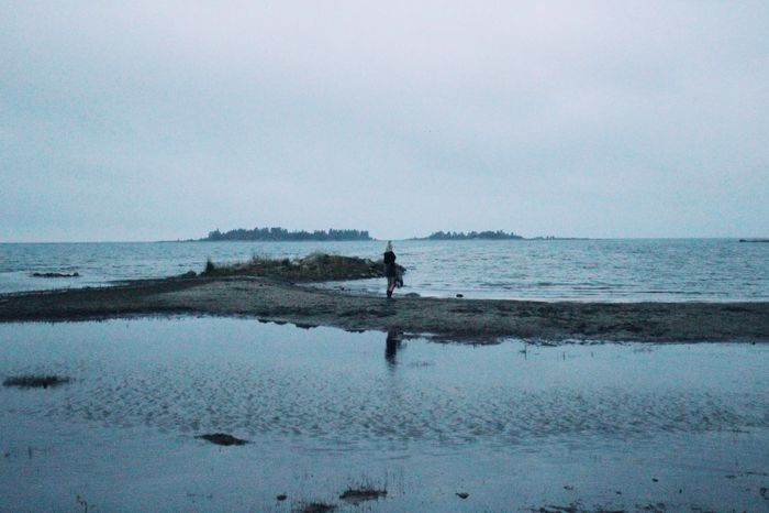 Hidden Gems  TheWeekOnEyeEM Desolate Water Ocean Blue Summer Evening Sand Beach Silhouette Norrmjöle
