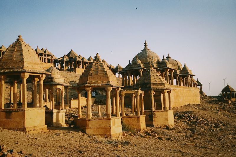 Jaisalmer Jaisalmer Fort Jaisalmer India Indiapictures Indian Maharaja Jaipur Jaipur Rajasthan Architecture Built Structure Sky Building Exterior Nature Clear Sky Sunlight Day No People Building Land Religion Outdoors Travel Destinations Travel Tourism Belief Spirituality Place Of Worship The Past