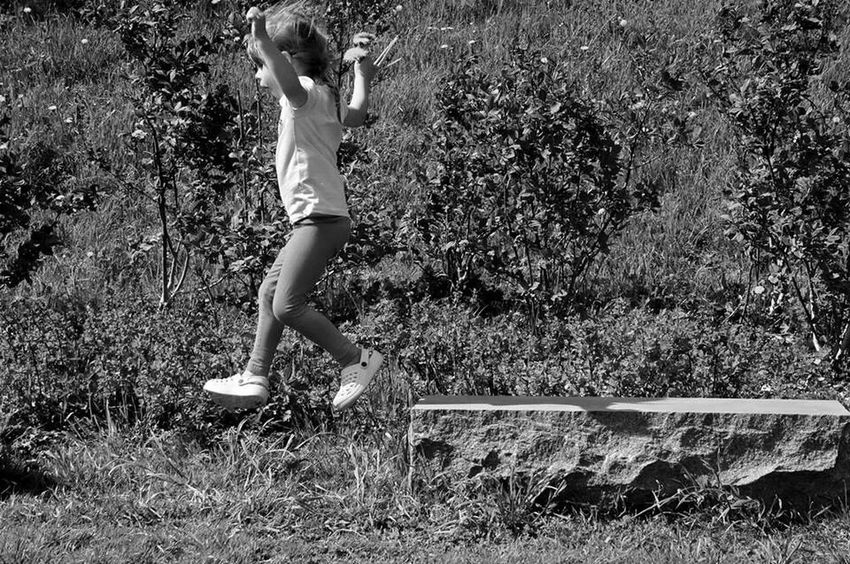 Daughter Black And White Taking Photos Sony Nex5r