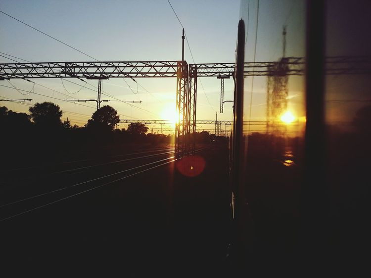 Railway Taking Photos Sun Croatia First Eyeem Photo