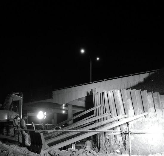 Hard work Night Bridge