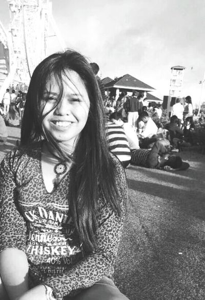 Tagaytay Skyranch Selfie ✌ Blackandwhite Photography It'sMoreFuninthePhilippines
