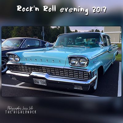 Rock'n Roll evening, Malmbäck 2017. Music and old car's. #rocknroll #oldcars #music #summer #evening #car #americancar #cruising #awesome #colourful #colorful #photoshoot #people #over #deluxefx #fotorus