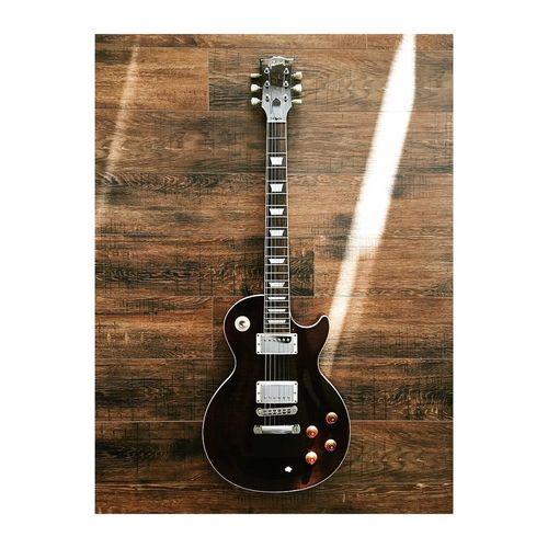 the friend that likes to yell. Guitar Music Gibson Les Paul Music Indoors  Transfer Print Guitar Musical Instrument No People High Angle View