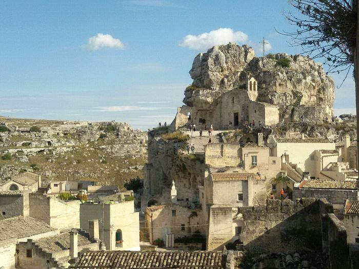 Matera, Italy Basilicata, Italy  Sassi Di Matera Old Town Rupe Built Structure History Scenics Android Photography Smartphone Photography Architecture No People Travel Destinations