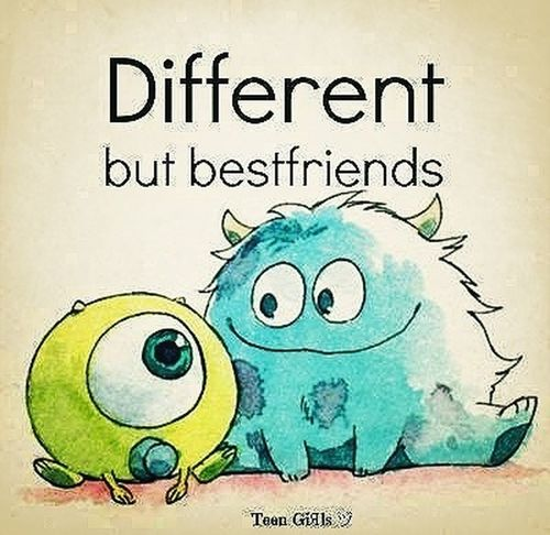 friends <3 Different Monsters University Monsters INC