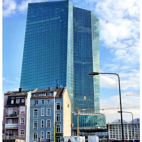 EZB Frankfurt Oosten Ostend Frankfurt Frakfurtcity Frankfurtlovers City Tumblr Lomoblog Iphonography