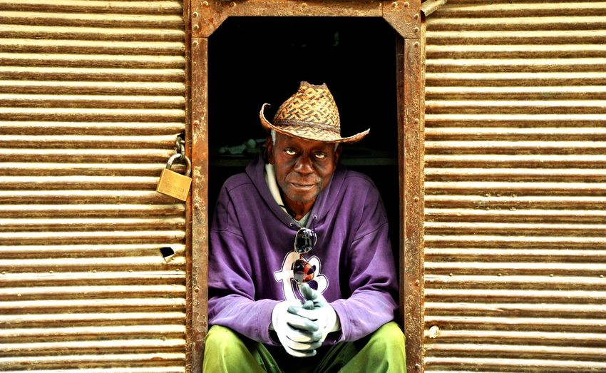 Adults Only Adult One Person One Man Only Portrait Real People Outdoors EyeEm Best Shots - People + Portrait Eyeemphotography Eeyemgallery Travel Destinations Rural Scene People Photography Portrait Photography Havanna, Cuba Handmade Artesan PortraitPhotography Portrait_shots