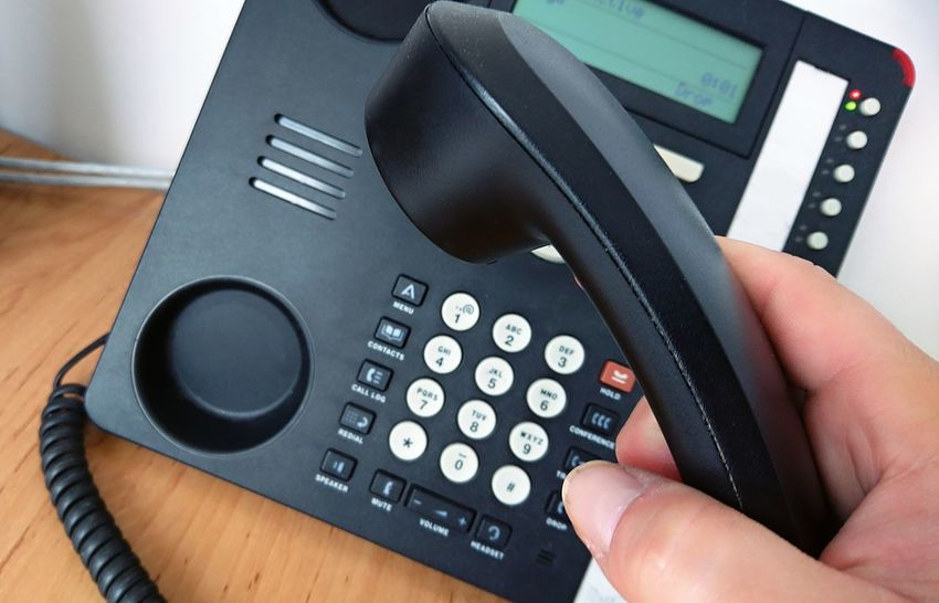 Picking telephone handset up close-up. Black Business Buttons Call Center Close-up Communication Connection Contact Customer  Dial Hand Handset Keypad Object Office Phone Pick Up Picking Receiver Service Technology Telecommunications Telemarketing Telephone