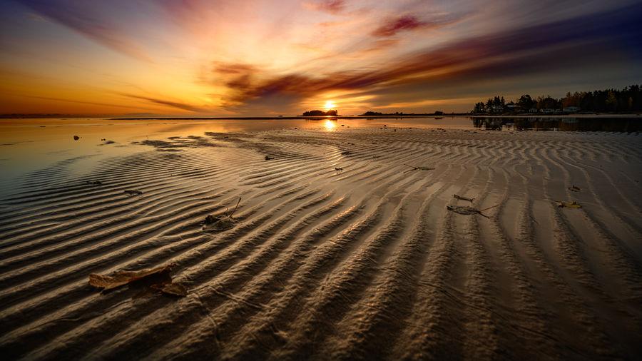 Land Sunset